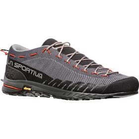La Sportiva TX2 Shoes Herre carbon/tangerine